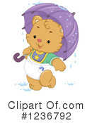 Royalty-Free (RF) Bear Clipart Illustration #1236792