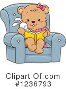 Royalty-Free (RF) Bear Clipart Illustration #1236793