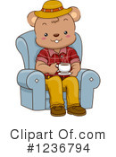 Royalty-Free (RF) Bear Clipart Illustration #1236794