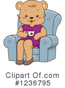 Royalty-Free (RF) Bear Clipart Illustration #1236795