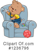 Royalty-Free (RF) Bear Clipart Illustration #1236796