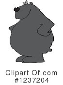 Royalty-Free (RF) Bear Clipart Illustration #1237204
