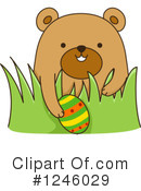 Royalty-Free (RF) Bear Clipart Illustration #1246029