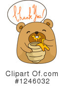 Royalty-Free (RF) Bear Clipart Illustration #1246032