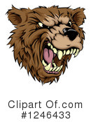 Royalty-Free (RF) Bear Clipart Illustration #1246433