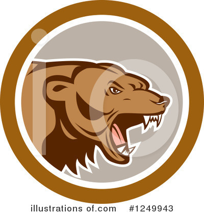 Bear Clipart #1249943 by patrimonio