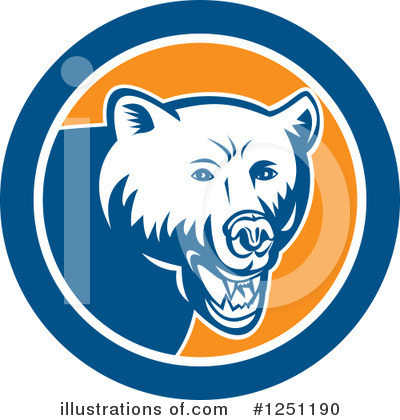 Bear Clipart #1251190 by patrimonio