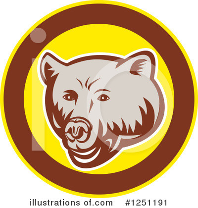 Bear Clipart #1251191 by patrimonio