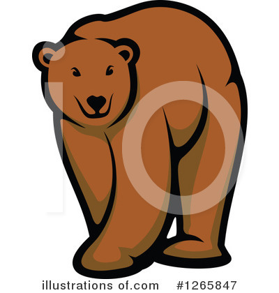 Bear Clipart #1265847 by Vector Tradition SM