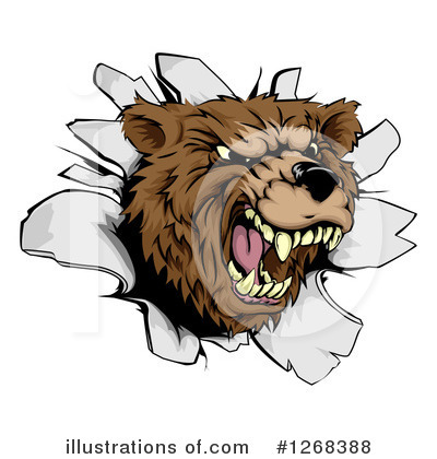 Bear Clipart #1268388 by AtStockIllustration