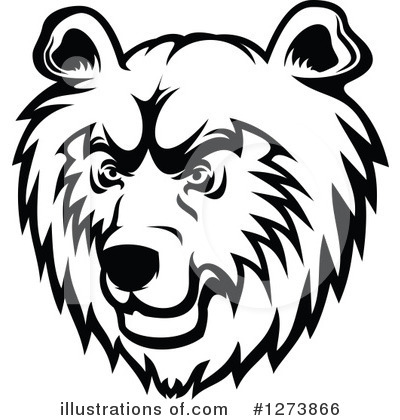 Bear Clipart #1273866 by Vector Tradition SM