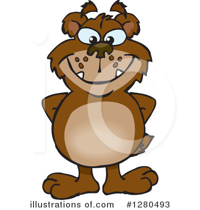 Bear Clipart #1280493 by Dennis Holmes Designs