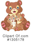 Bear Clipart #1305178 by Pushkin
