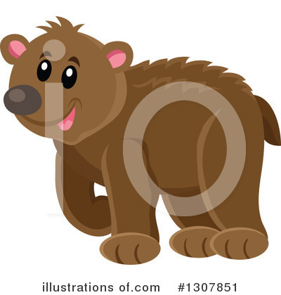 Forest Animals Clipart #1307851 by visekart