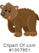 Bear Clipart #1307851 by visekart