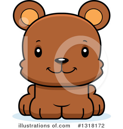 Bear Clipart #1318172 by Cory Thoman