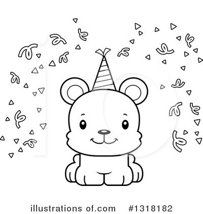 Party Hat Clipart #1318182 by Cory Thoman