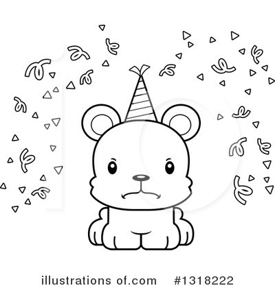 Party Hat Clipart #1318222 by Cory Thoman