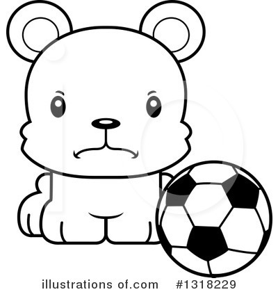 Football Clipart #1318229 by Cory Thoman