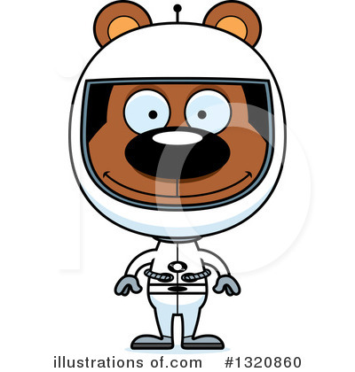 Astronaut Clipart #1320860 by Cory Thoman