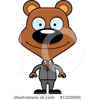 Businessman Clipart #1320865 by Cory Thoman