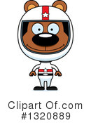 Royalty-Free (RF) Bear Clipart Illustration #1320889