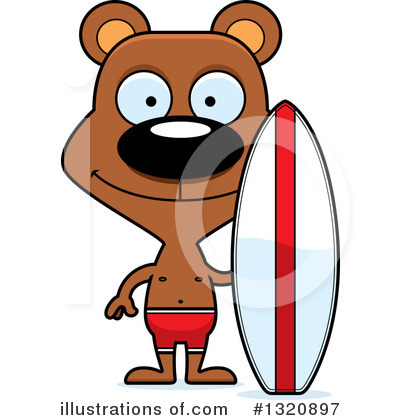 Surfer Clipart #1320897 by Cory Thoman