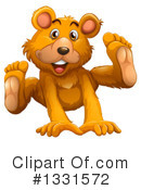 Bear Clipart #1331572 by Graphics RF