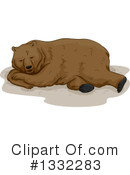 Royalty-Free (RF) Bear Clipart Illustration #1332283