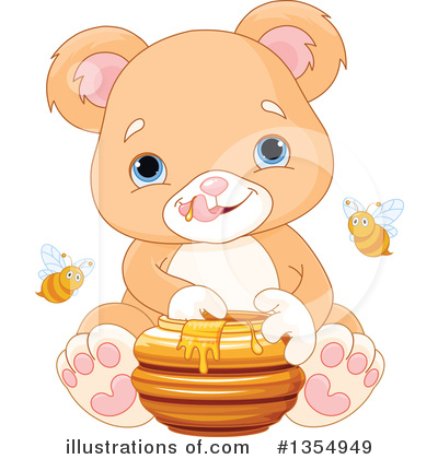Honey Clipart #1354949 by Pushkin