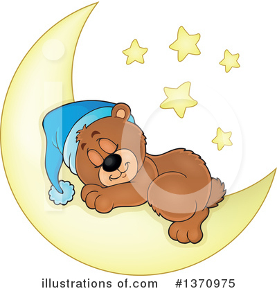 Moon Clipart #1370975 by visekart
