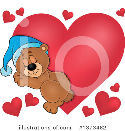 Bear Clipart #1373482 by visekart