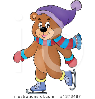 Bear Clipart #1373487 by visekart