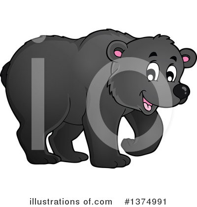 Bear Clipart #1374991 by visekart
