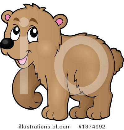 Bear Clipart #1374992 by visekart