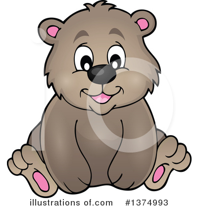 Bear Clipart #1374993 by visekart