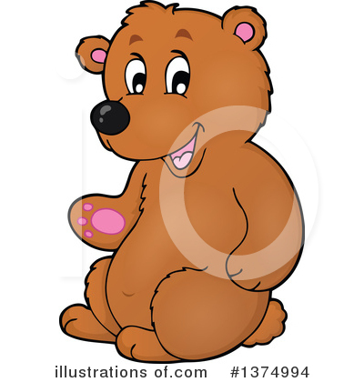 Bear Clipart #1374994 by visekart