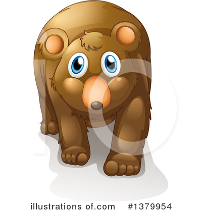 Bear Clipart #1379954 by Graphics RF