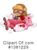 Royalty-Free (RF) Bear Clipart Illustration #1381229