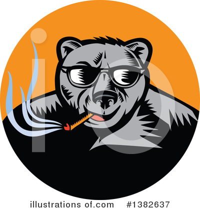 Bear Clipart #1382637 by patrimonio