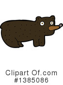 Bear Clipart #1385086 by lineartestpilot