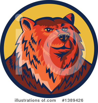 Bear Clipart #1389426 by patrimonio