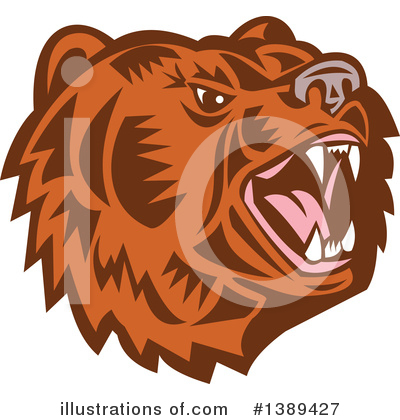 Bear Clipart #1389427 by patrimonio