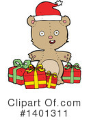 Bear Clipart #1401311 by lineartestpilot