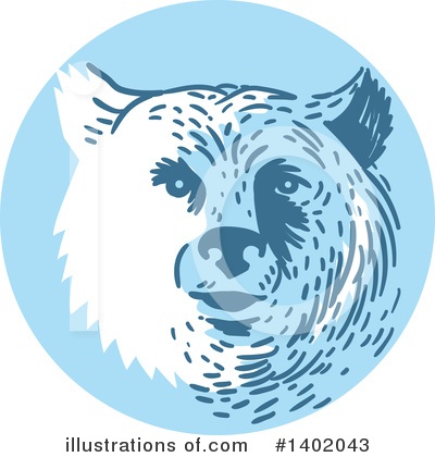Bear Clipart #1402043 by patrimonio