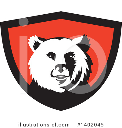 Bear Clipart #1402045 by patrimonio