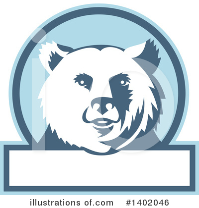 Bear Clipart #1402046 by patrimonio