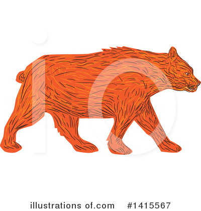 Bear Clipart #1415567 by patrimonio