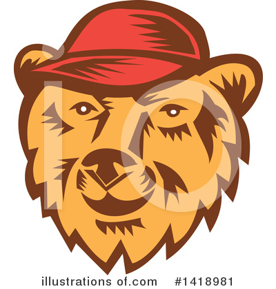 Bear Clipart #1418981 by patrimonio