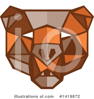 Royalty-Free (RF) Bear Clipart Illustration by patrimonio - Stock Sample #1419872